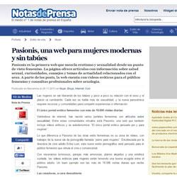 Paisionis en notasdeprensa.es